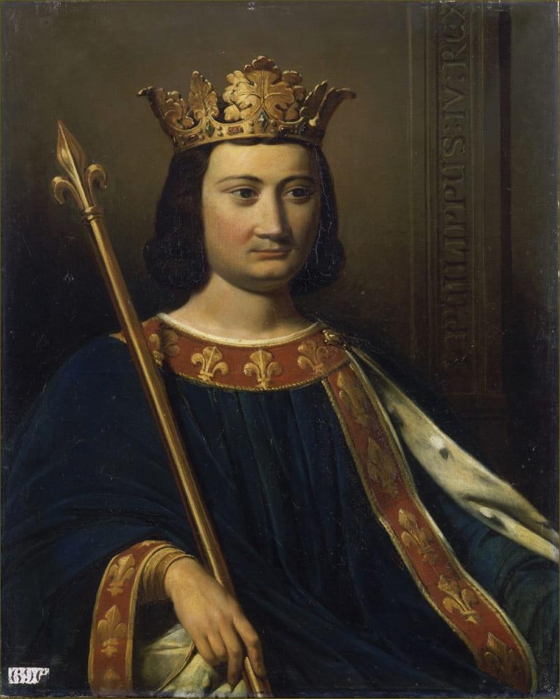 Jean Louis Bezard «Портрет короля Франции Филиппа IV Красивого»
