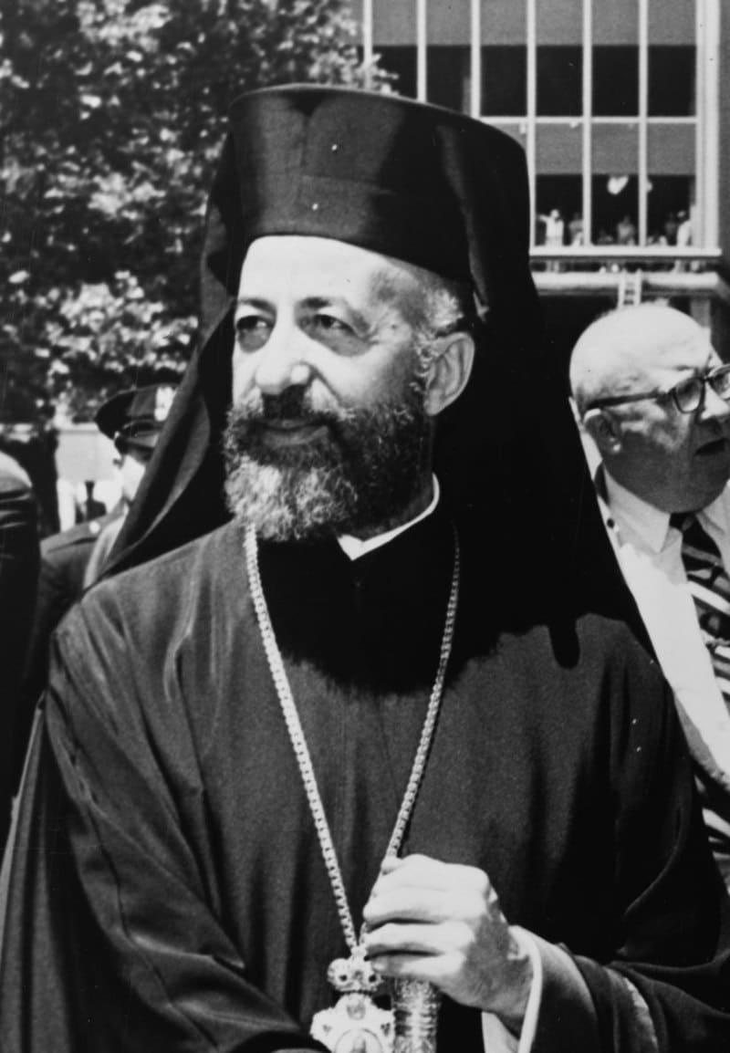 Архиепископ Макариос III в 1962 году