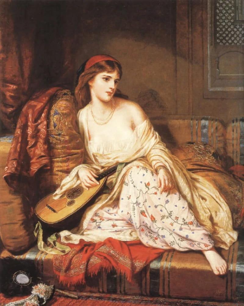 Чарльз Винн Николлс «Свет гарема» (не является портретом Махидевран-султан)