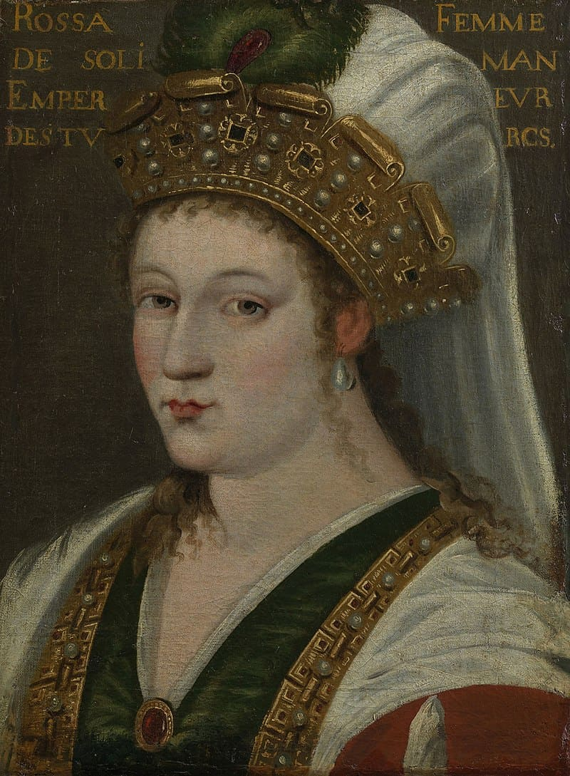 Французская школа «Портрет жены Сулеймана» / Королевская коллекция