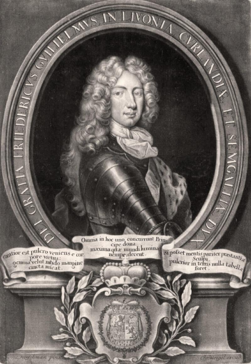 Фридрих III Вильгельм - герцог Курляндии