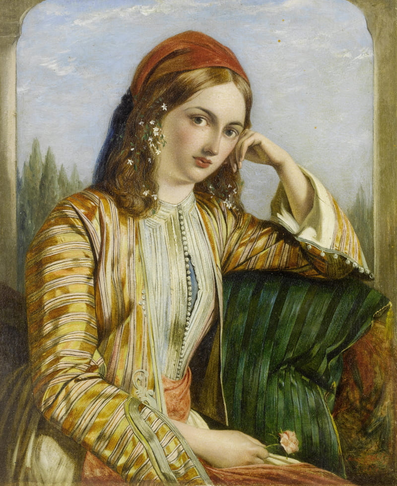 Генри Нельсон Онейл «Султанша» (не является портретом Гюльфем-хатун)