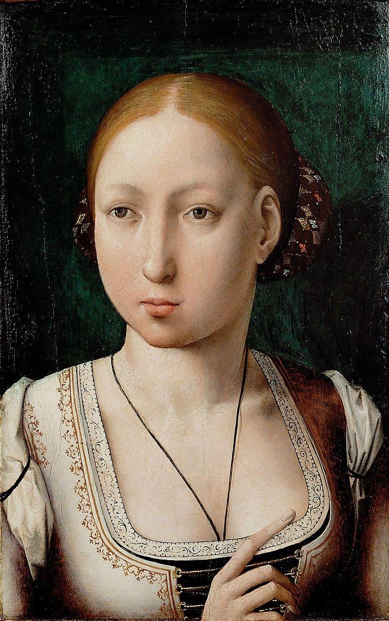 Хуан Фландес «Портрет инфанты Хуаны» / Музей истории искусств в Вене, Австрия