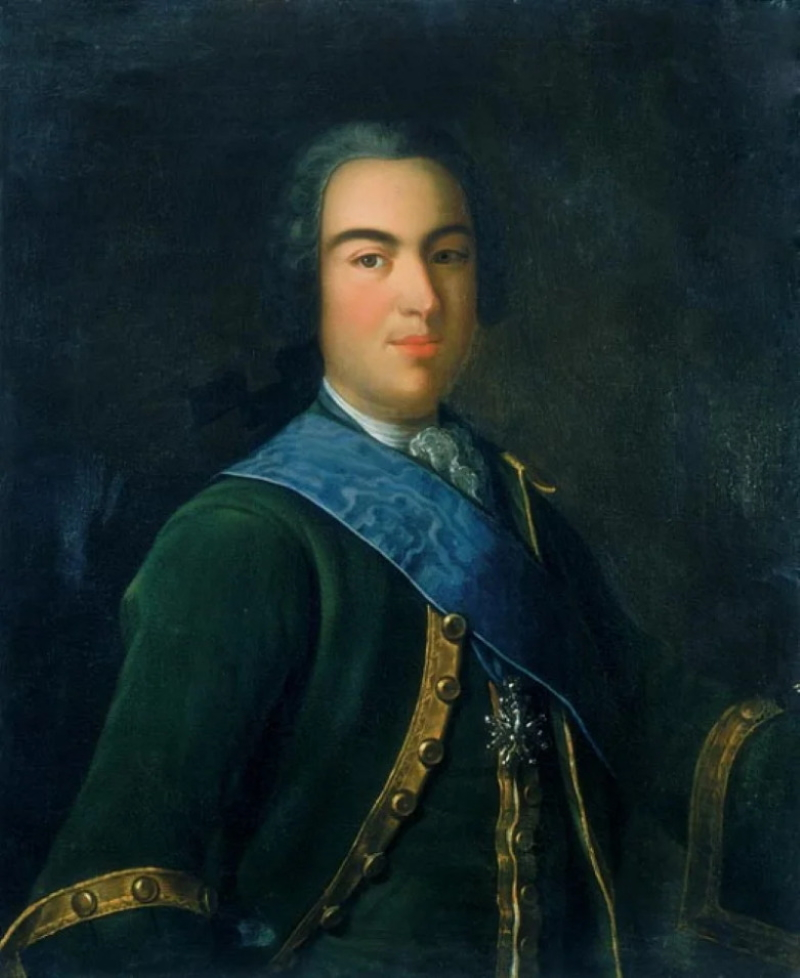 Неизвестный художник «Портрет Ивана Алексеевича Долгорукова, брата Екатерины»