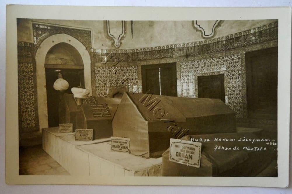 Мавзолей шехзаде Мустафы, фото XX века