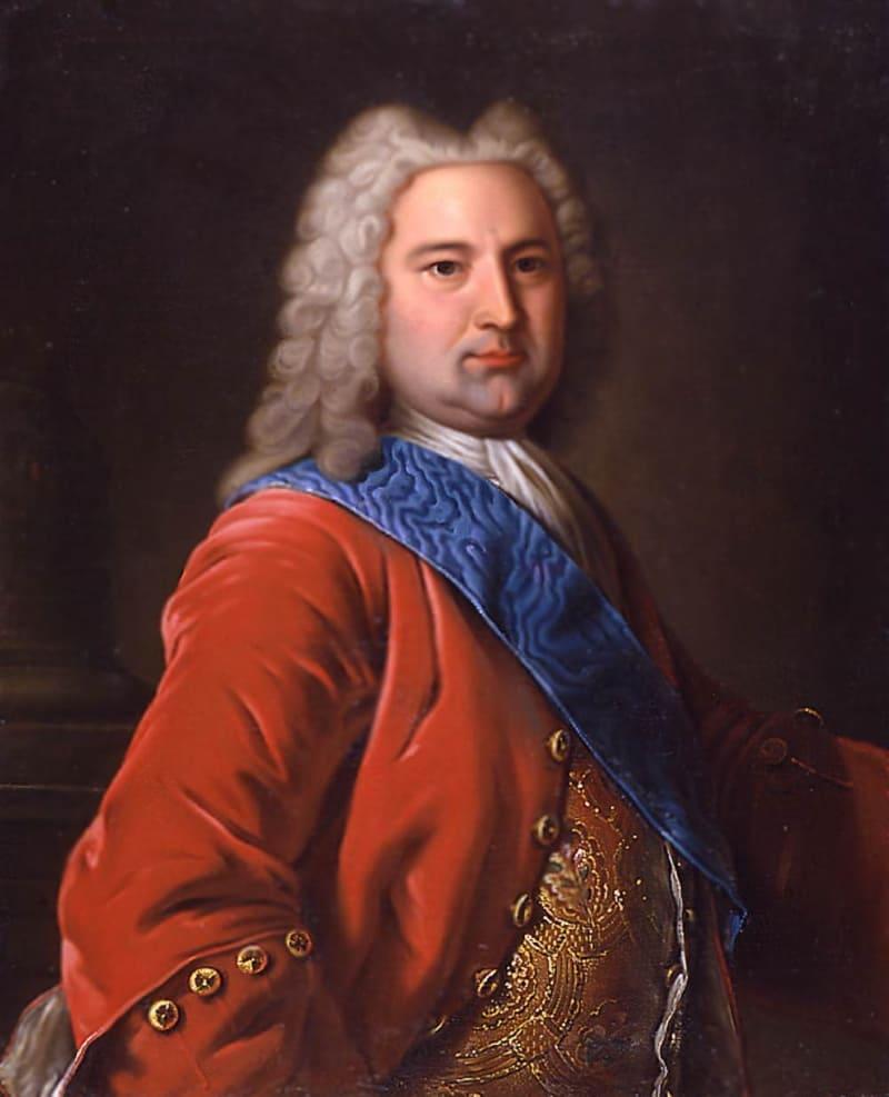 Неизвестный художник «Портрет герцога Курляндского Эрнста Иоганна Бирона»