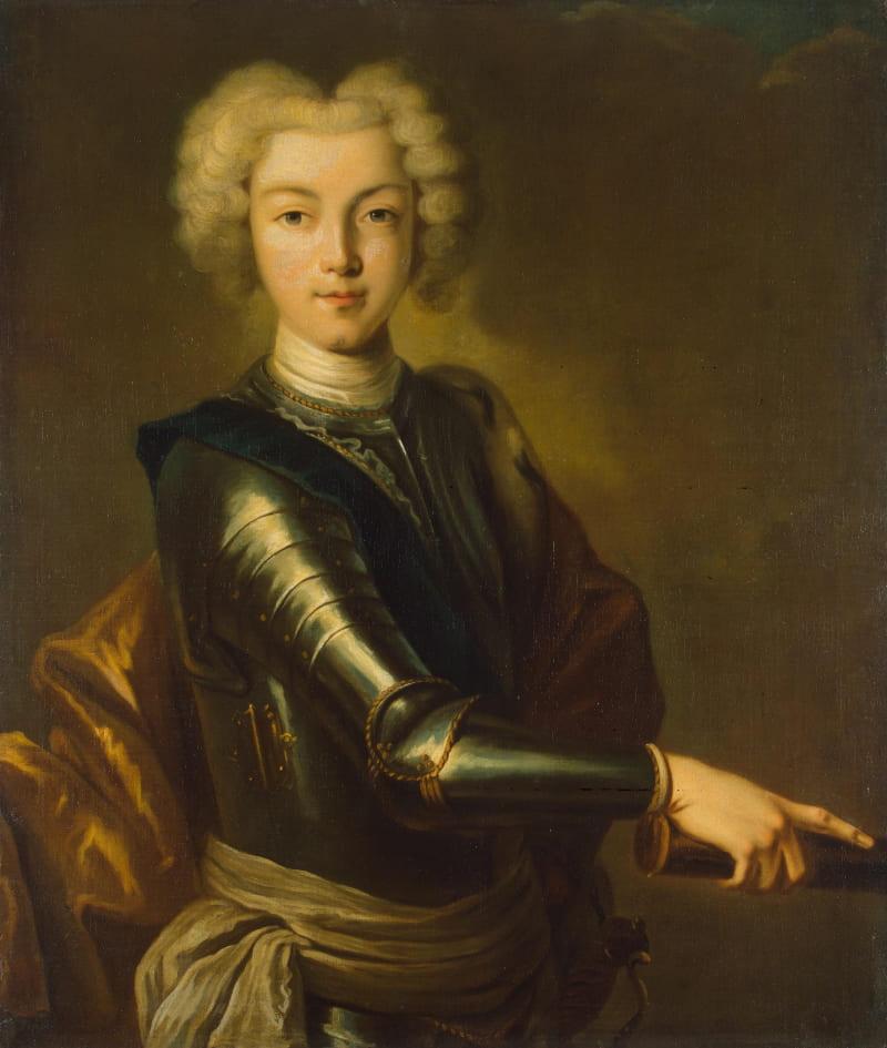 Неизвестный художник «Портрет Петра II» / Эрмитаж, Санкт-Петербург