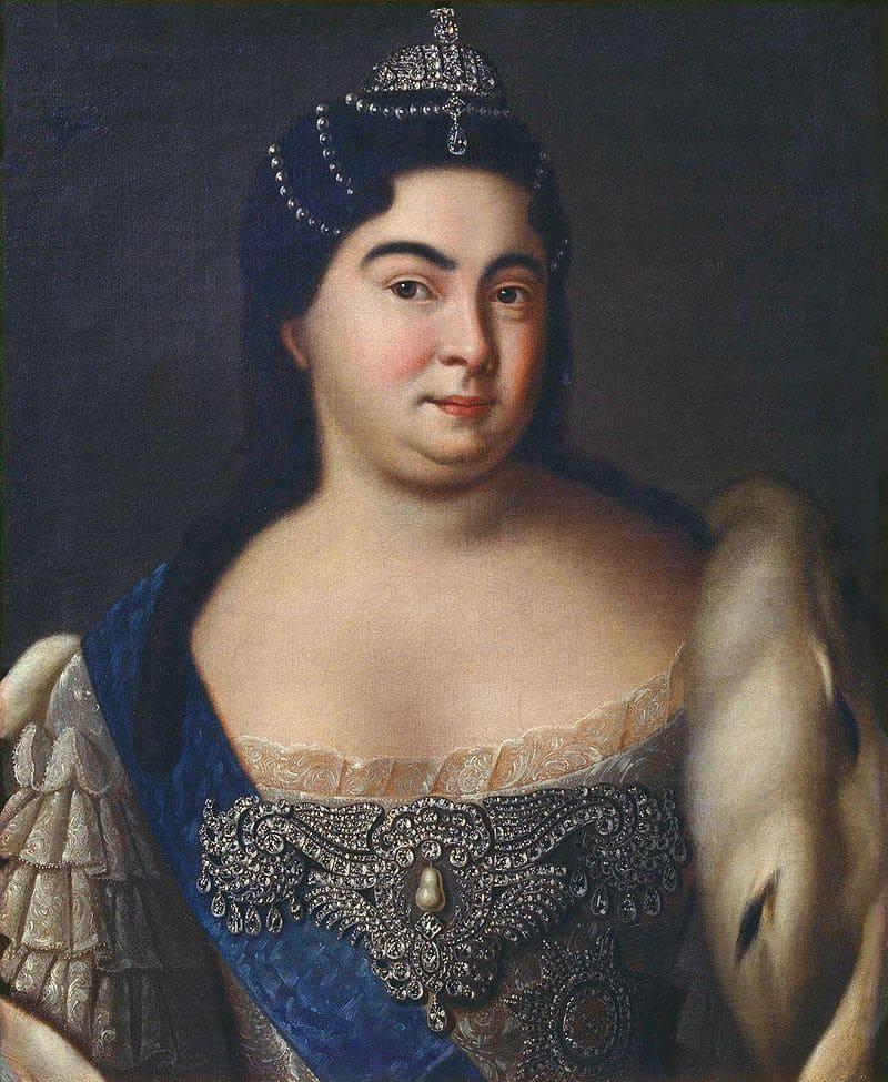Неизвестный художник «Портрет императрицы Екатерины I»