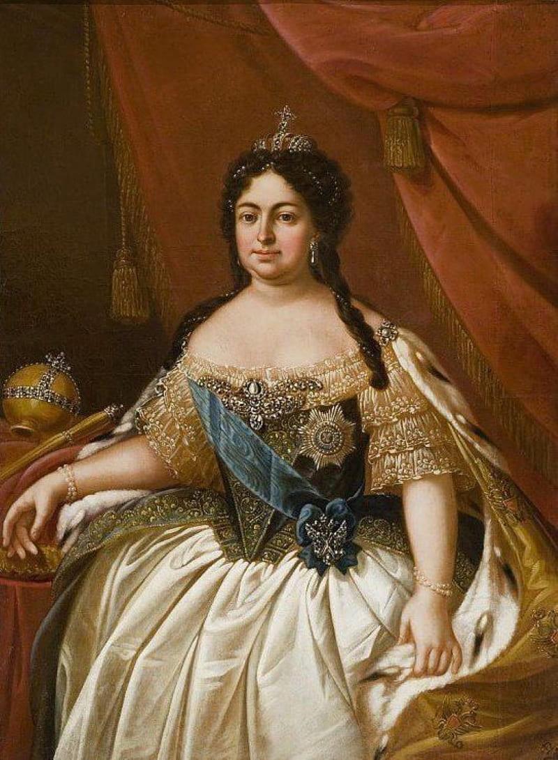 Неизвестный художник «Портрет российской императрицы Анны Иоанновны»