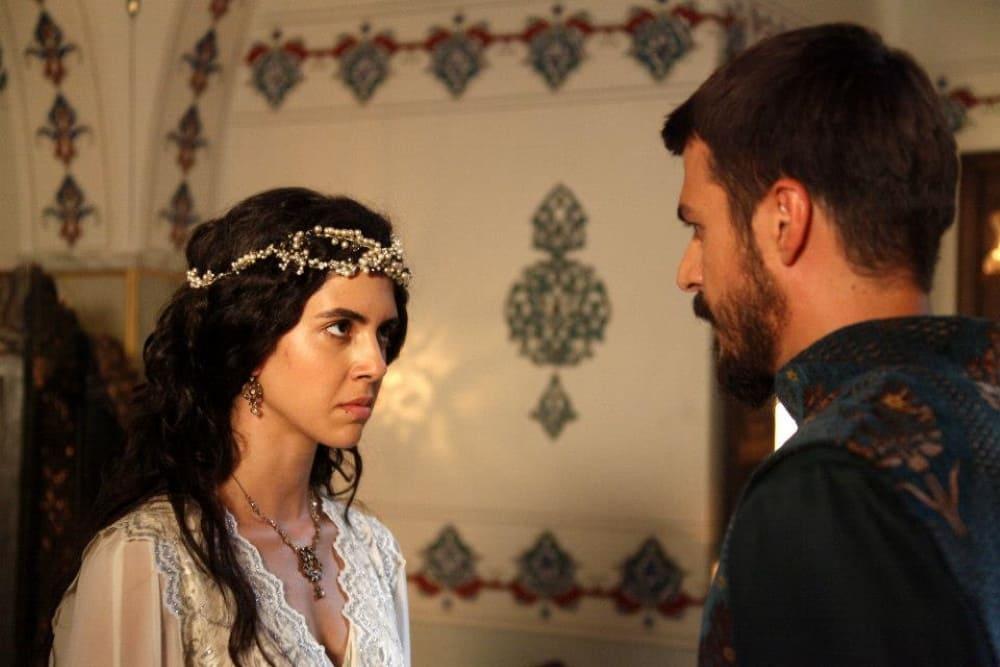 Образ Мустафы и Елены-хатун в сериале «Великолепный век»
