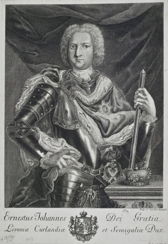 Портрет Эрнста-Иоганна Бирона, герцога Курляндского