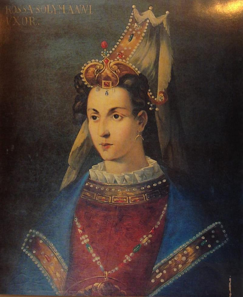 Портрет Хюррем-султан / Топкапы, Стамбул
