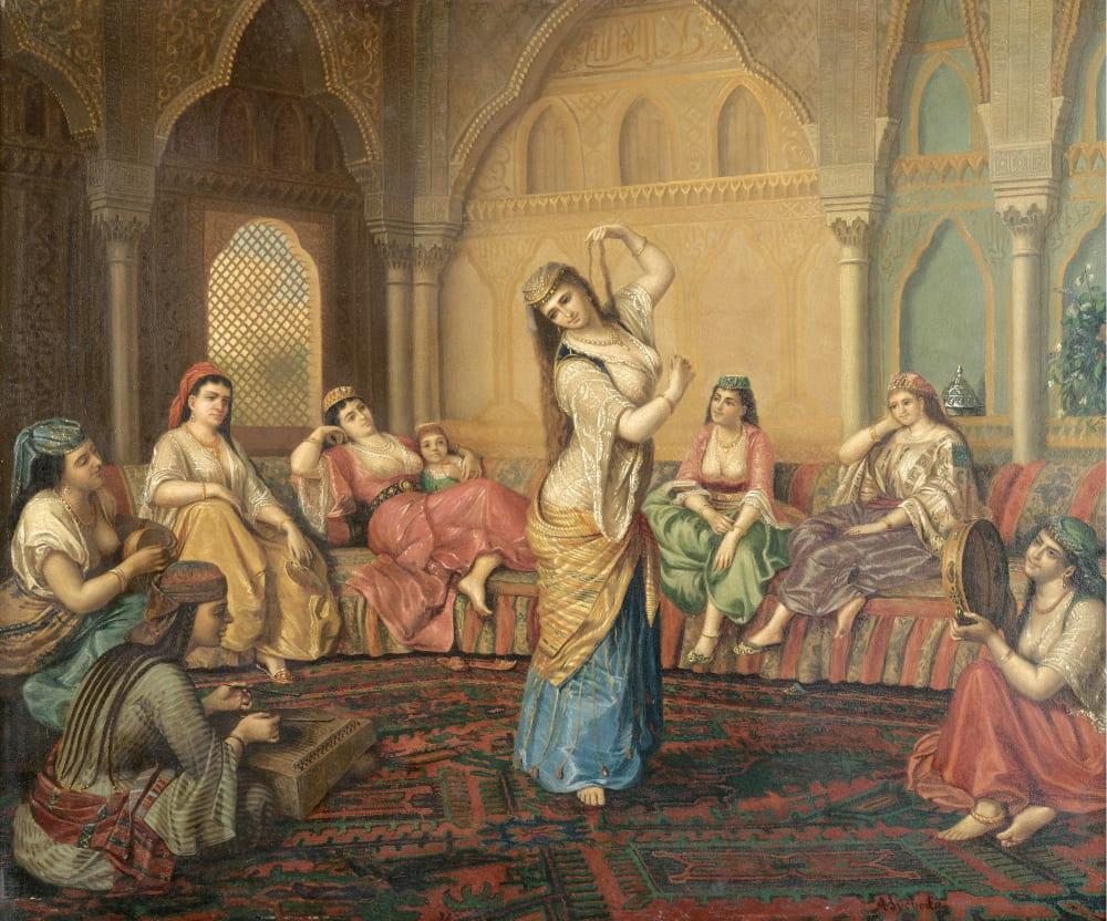 Шандор Александр Свобода «Танцы в гареме»