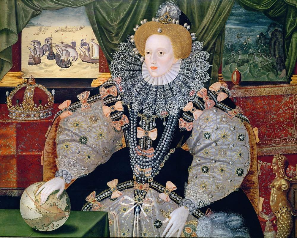 «Армадный портрет Елизаветы I» / Уобёрн-Эбби, Англия