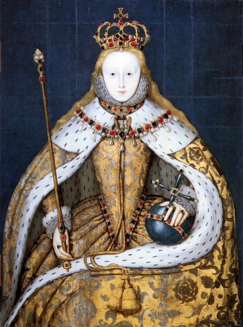 «Коронационный портрет Елизаветы I» / Национальная портретная галерея, Лондон