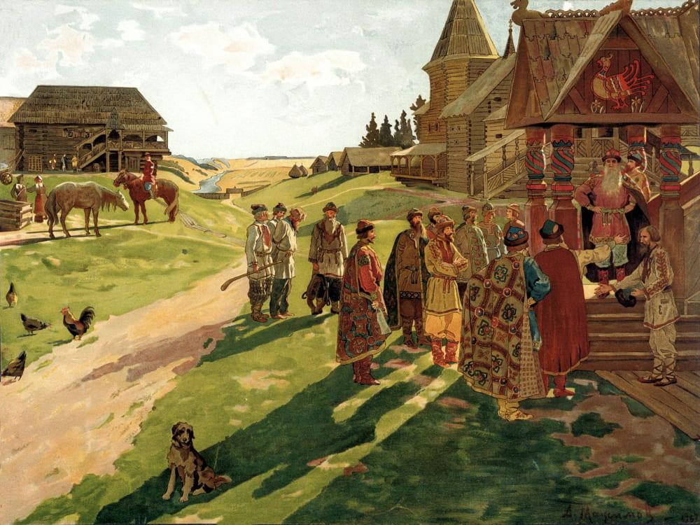 Алексей Максимов «В усадьбе князя»