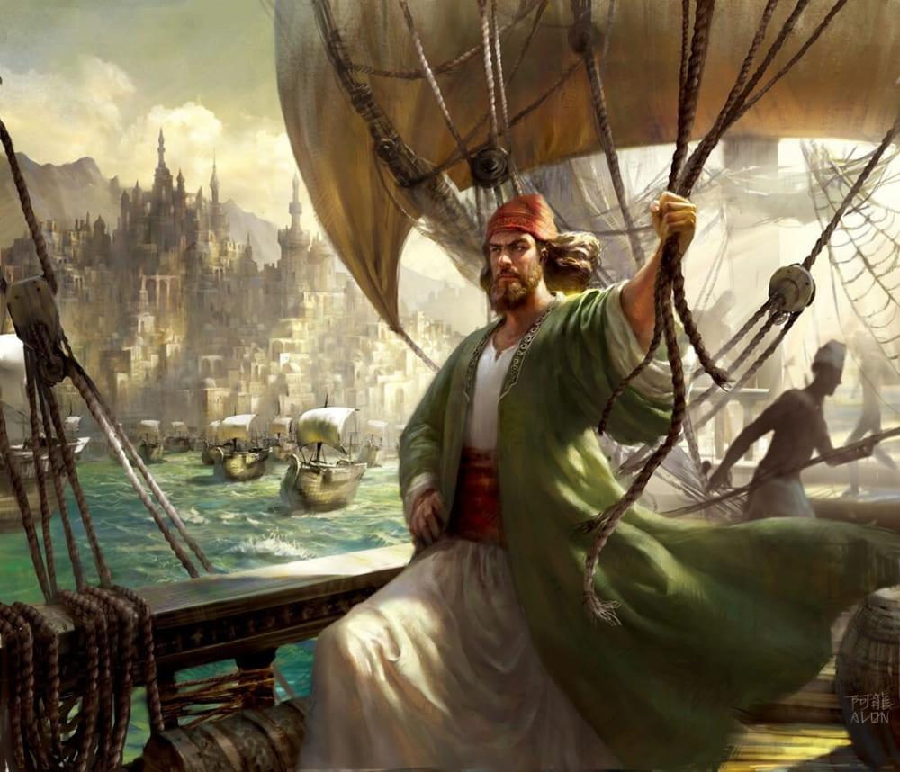 Алон Чоу «Финикийский мореплаватель»