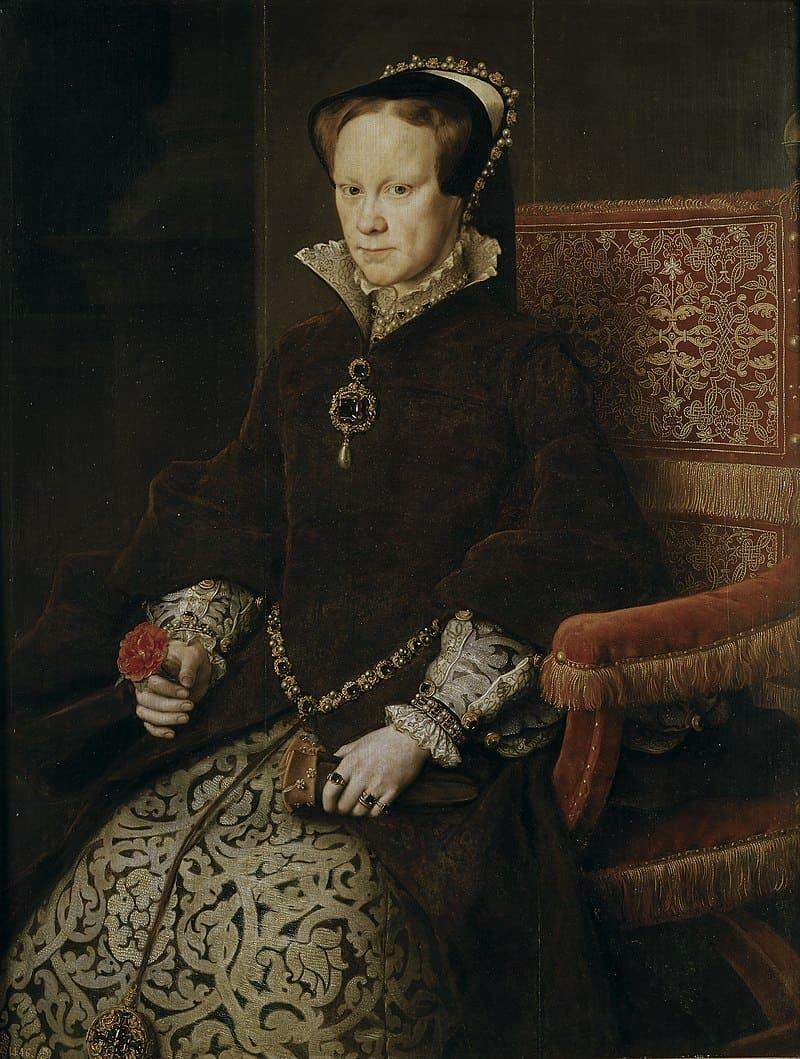 Антонис Мор «Портрет Марии I Тюдор» / Музей Прадо, Испания
