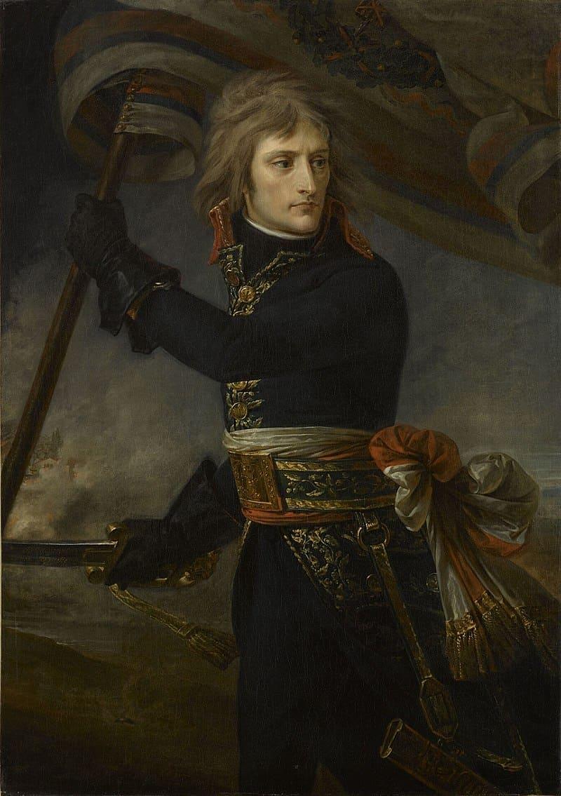 Антуан-Жан Гро «Портрет генерала Бонапарта» / Версаль, Франция
