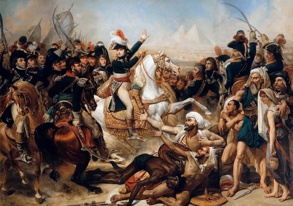 Антуан-Жан Гро «Битва у пирамид»