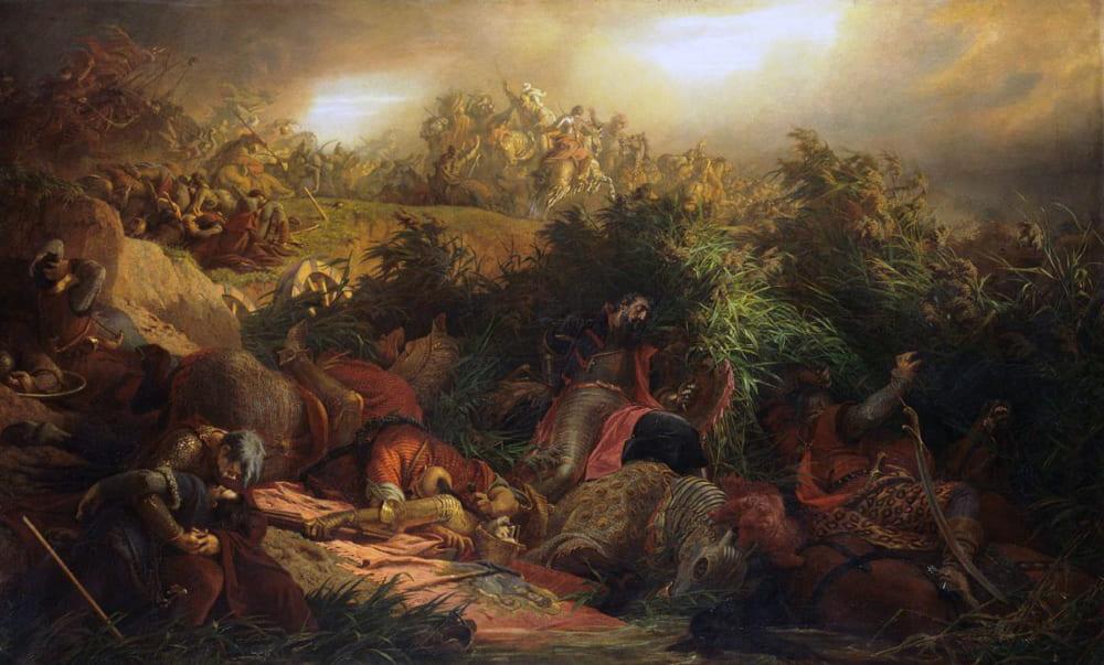 Берталан Шекели «Битва при Мохаче»
