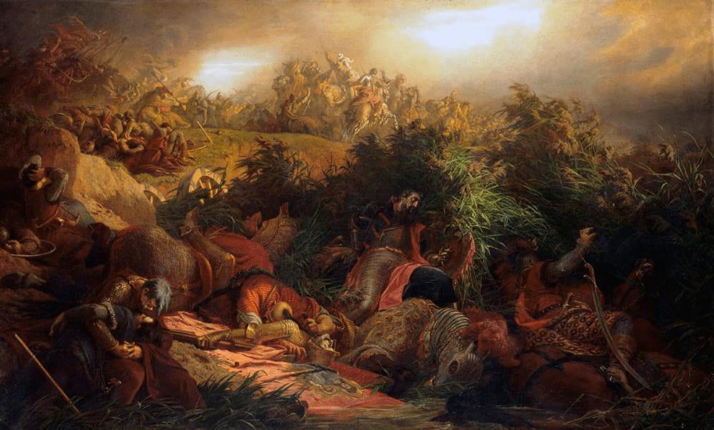 Берталан Шекели «Мохачская битва»