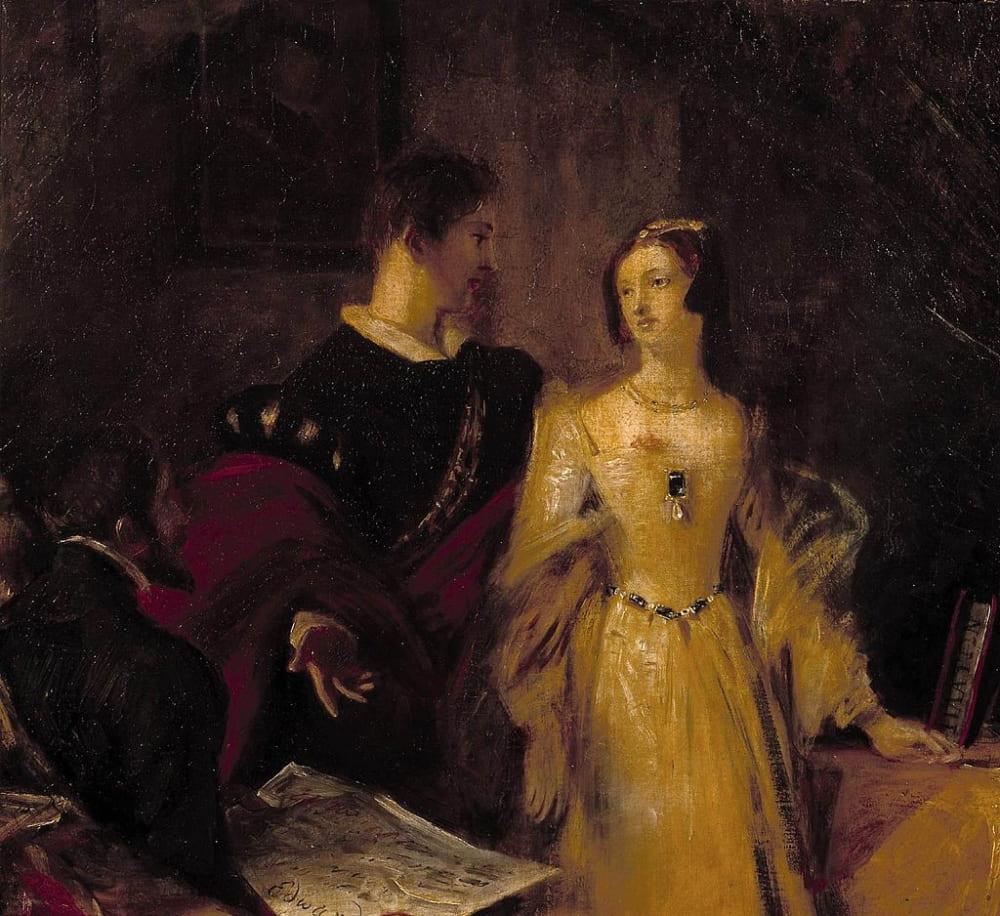 Чарльз Лесли «Гилфорд Дадли склоняет Джейн принять корону»