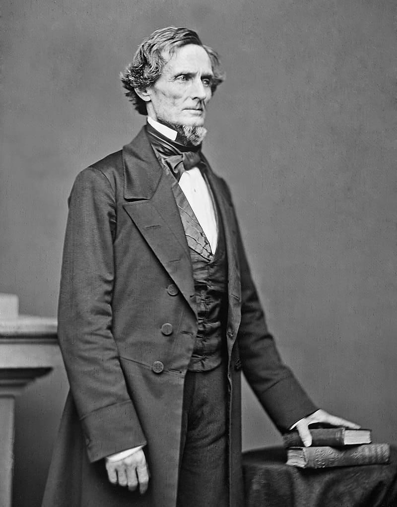 Президент Конфедеративных Штатов Америки Джефферсон Дэвис / Фотограф Мэттью Брэди