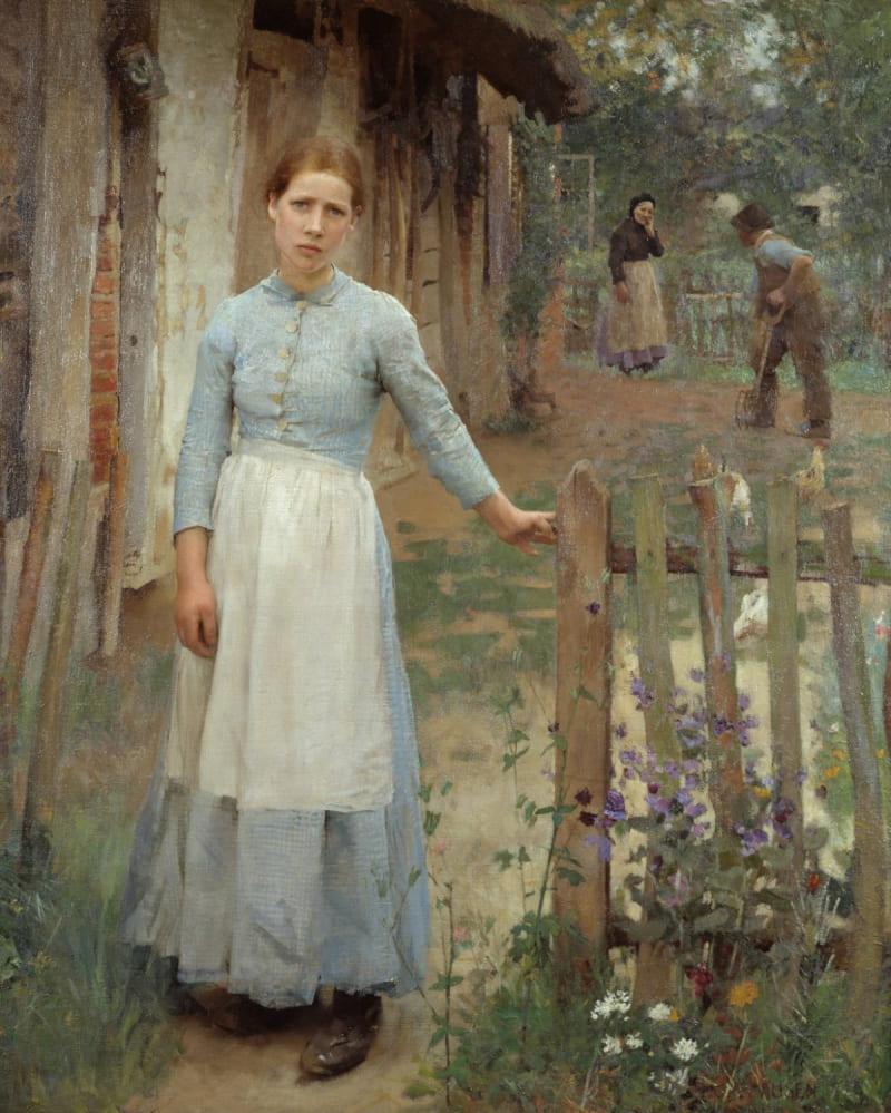 Джордж Клаузен «Девушка у ворот» (не является изображением Екатерины Антоновны)
