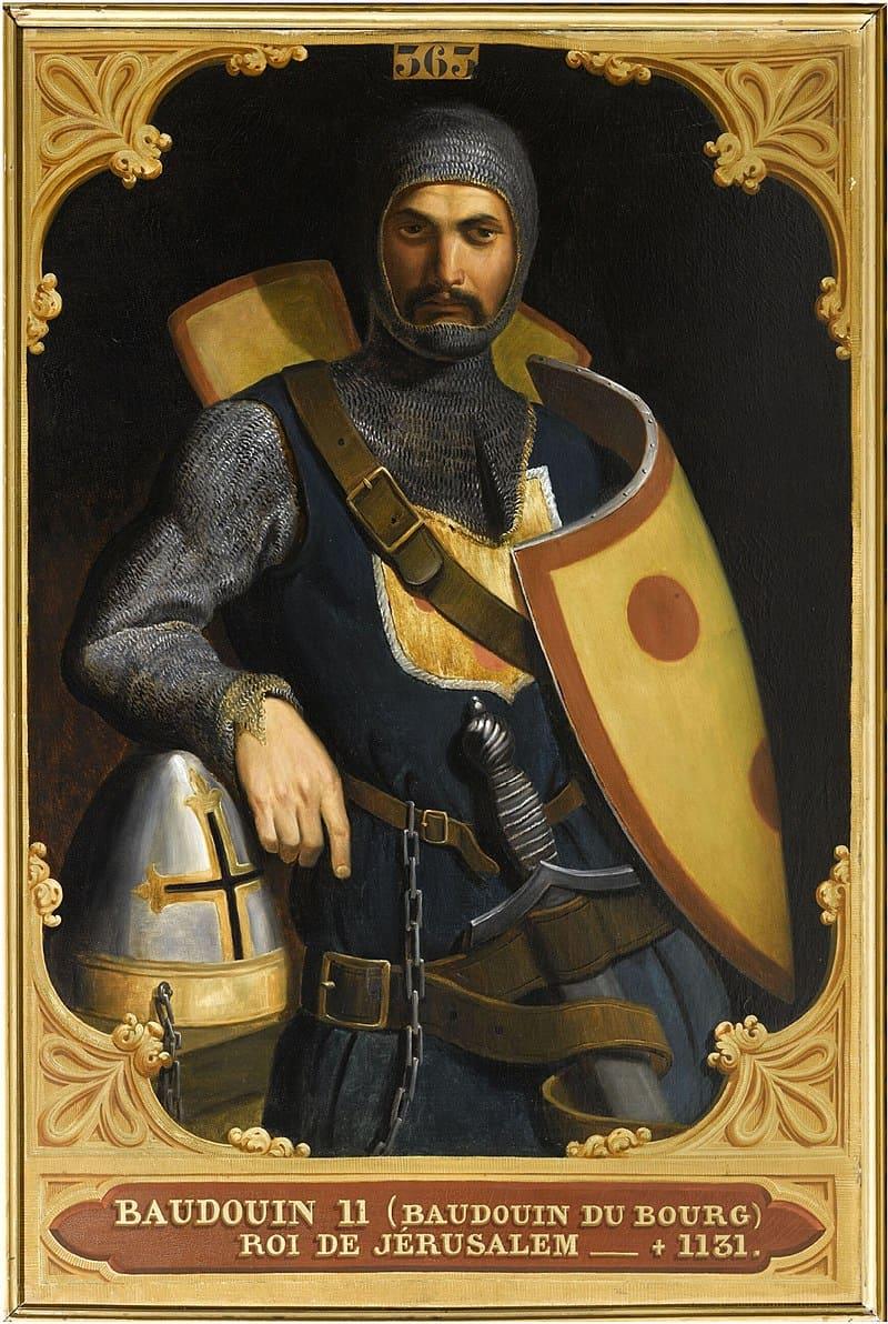 Эдуард Одье «Портрет Балдуина II Иерусалимского» / Версаль, Франция