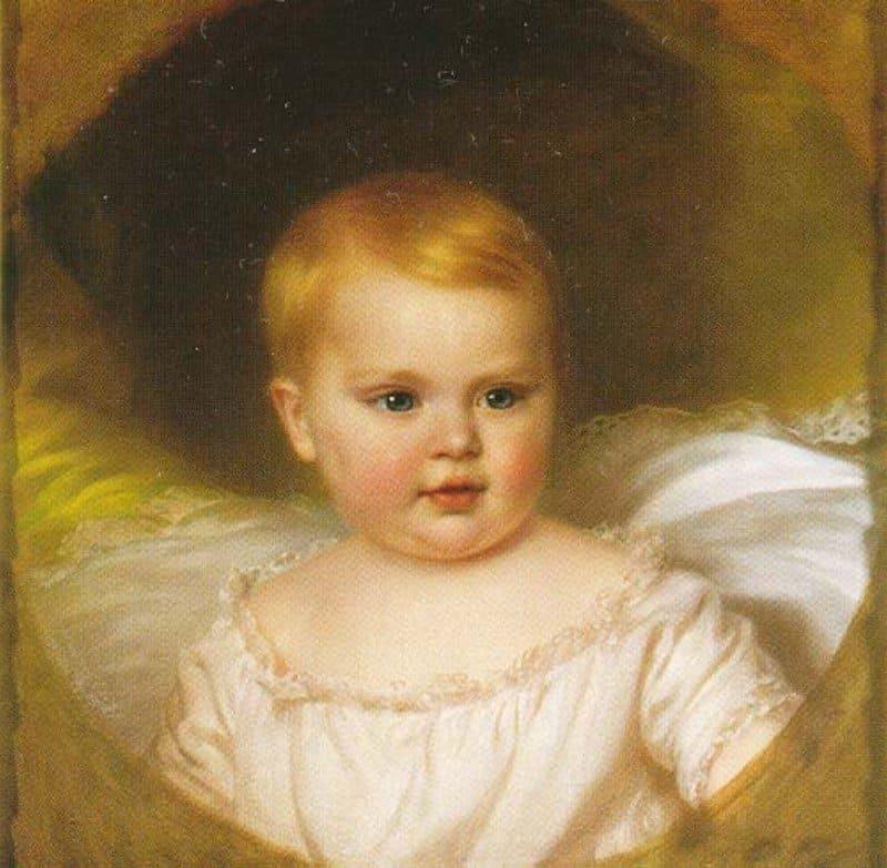 Неизвестный художник «Портрет эрцгерцогини Софии»