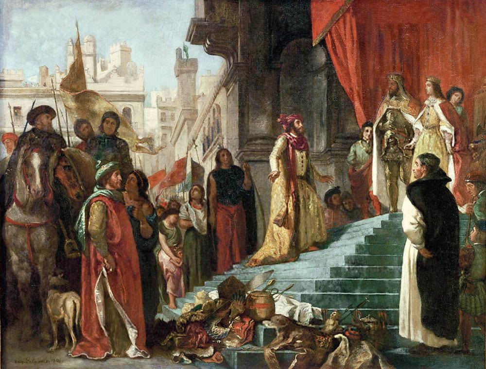 Эжен Делакруа «Возвращение Христофора Колумба»