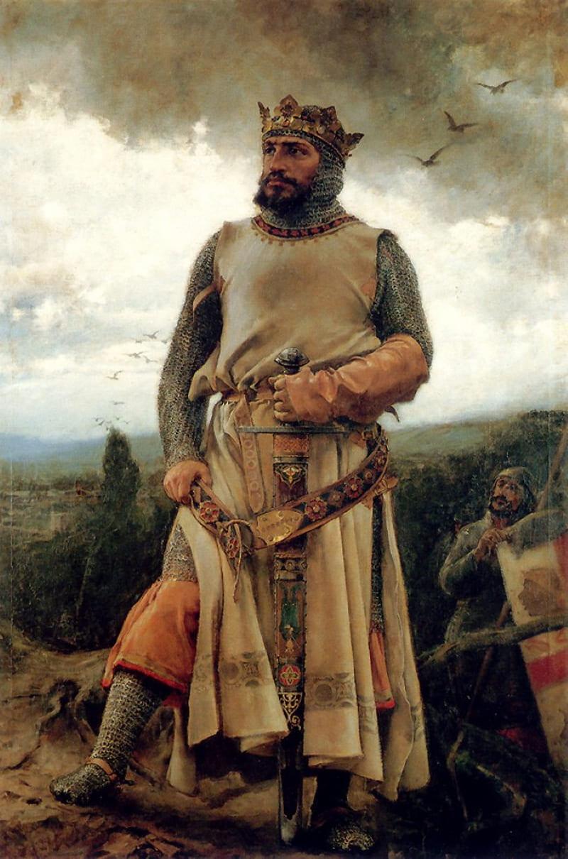 Франсиско Прадилья «Портрет Альфонсо I Воителя»