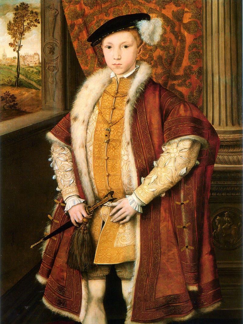 Ганс Эворт «Портрет Эдуарда VI, брата Елизаветы I»