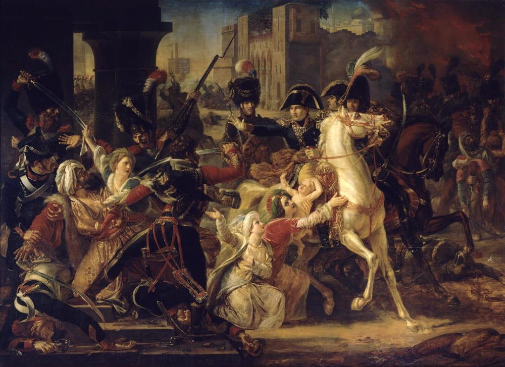 Гийом-Франсуа Кольсон «Наполеон дарует помилование арабской семье в Александрии»