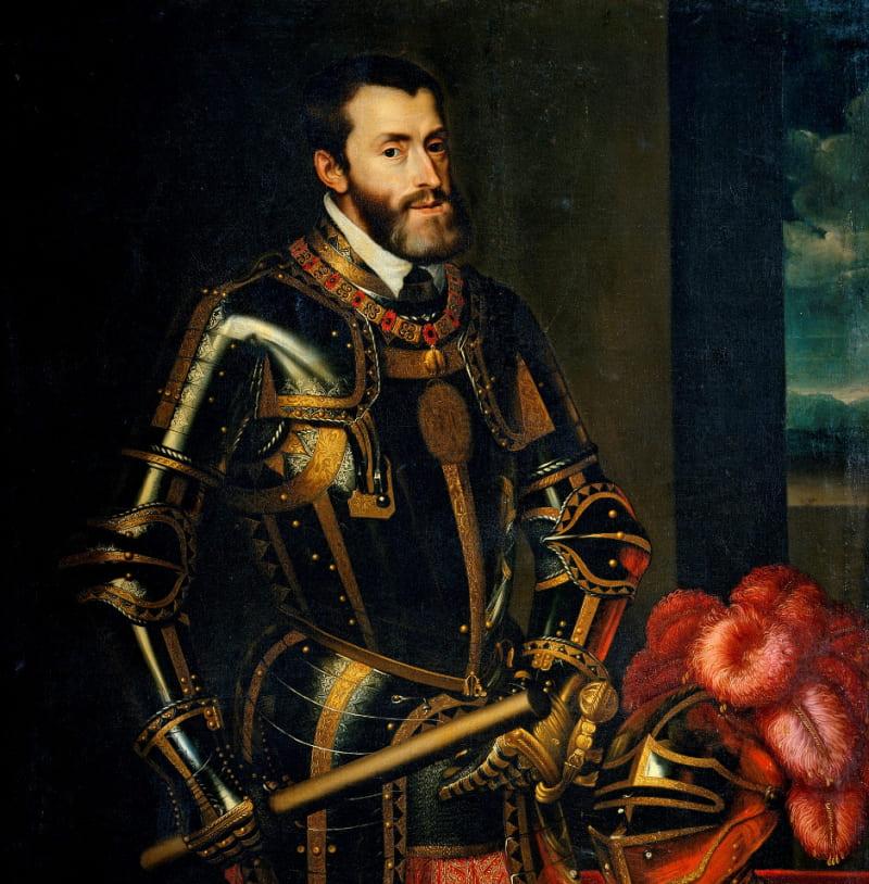 Хуан Пантоха де ла Крус «Портрет Карла V» / Музей Прадо, Испания