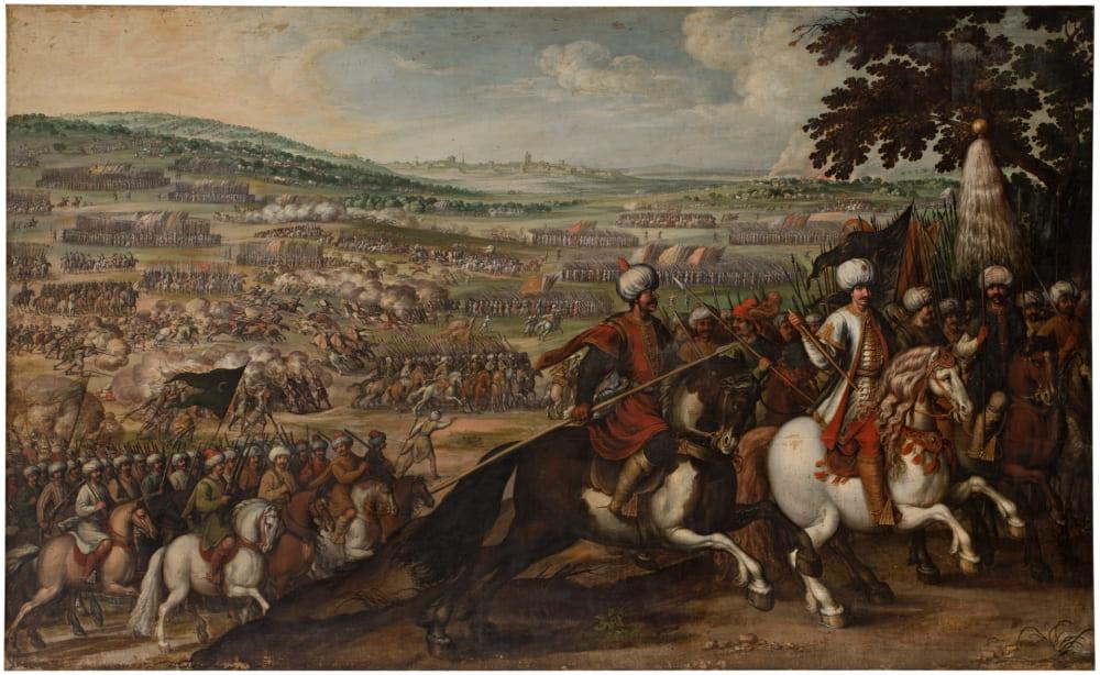 Хуан де ла Корте «Турки покидают Вену» / Музей Прадо, Испания