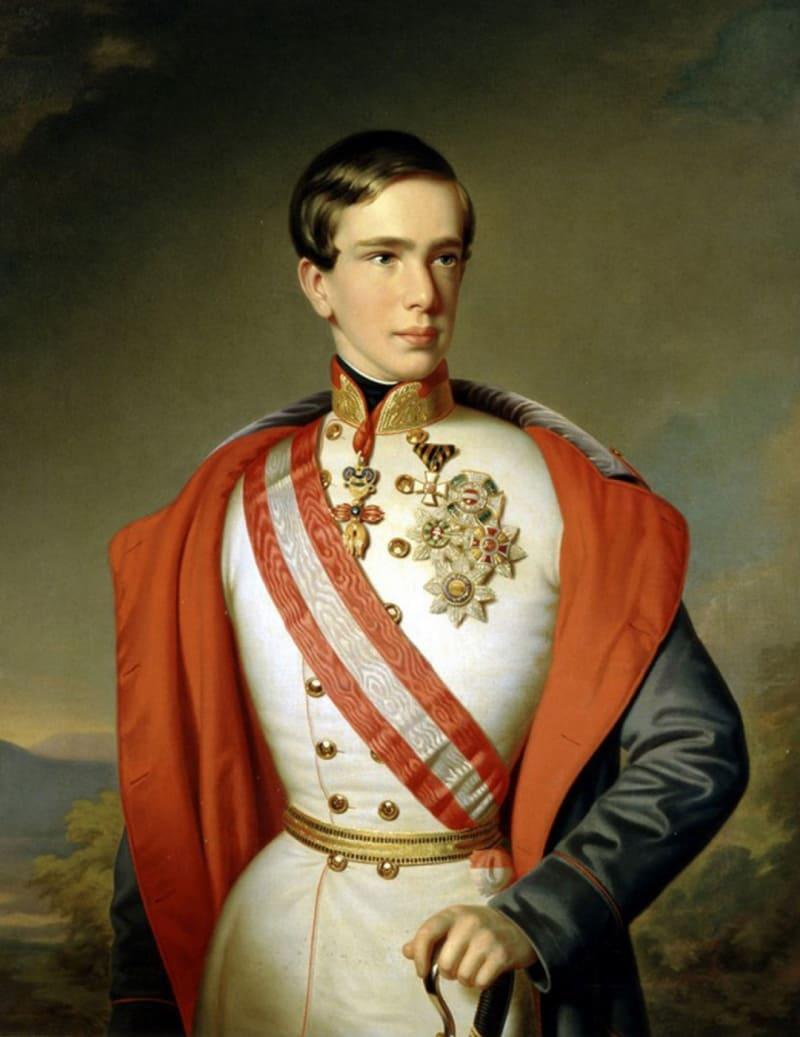 Иоганн Ранзи «Портрет императора Франца Иосифа I»