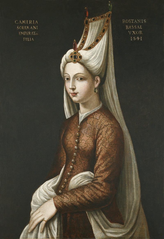 Кристофано дель Альтиссимо «Портрет Камерии (имя Михримах в Европе), дочери султана Сулеймана I» / Музей Пера, Стамбул