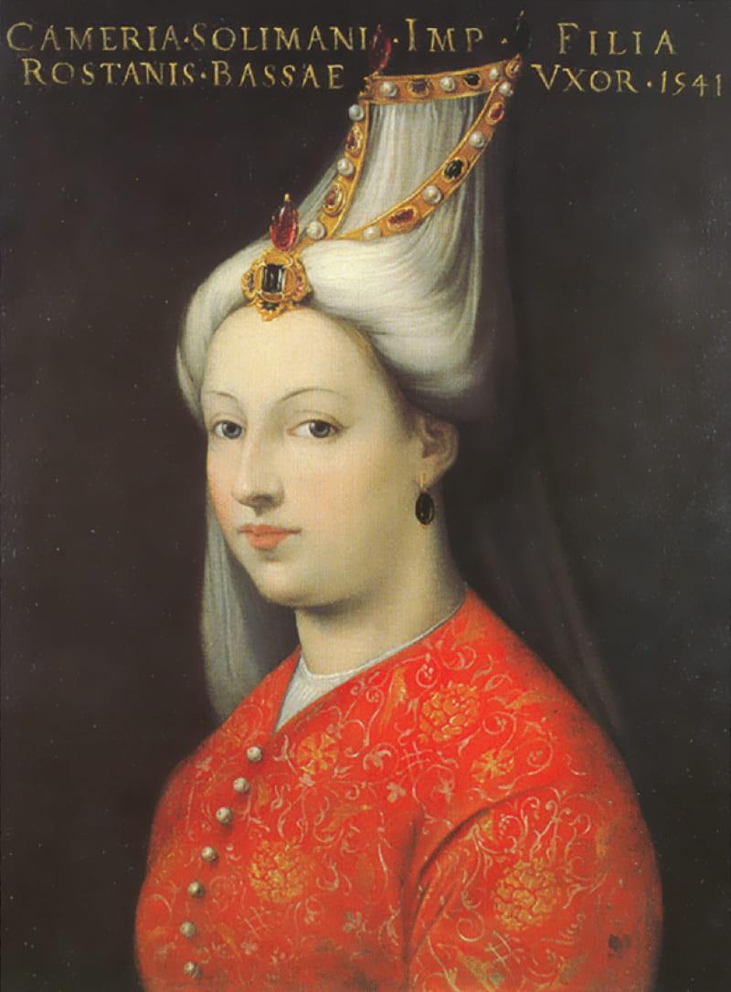 Кристофано дель Альтиссимо «Портрет Михримах, дочери султана Сулеймана I» / Уффици, Флоренция