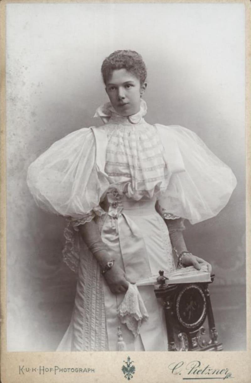 Мария Валерия, эрцгерцогиня Австрийская / Фотограф Карл Пицнер / Австрийская национальная библиотека