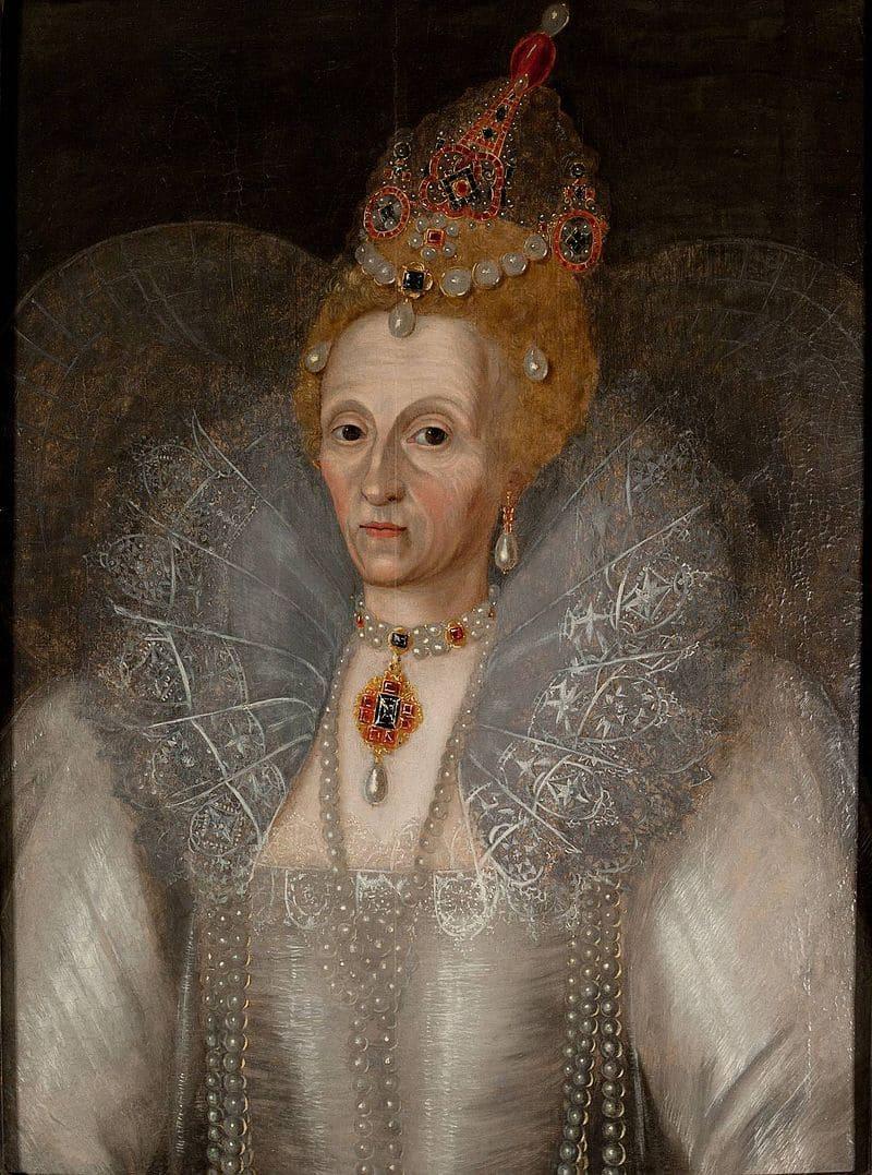 Маркус Герардс Младший «Портрет королевы Англии Елизаветы I»