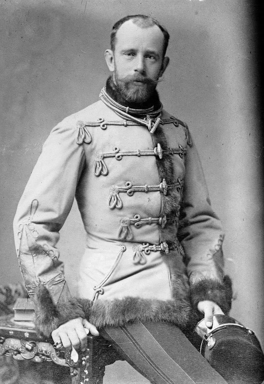 Наследный принц Австро-Венгрии Рудольф / Фотограф Кароли Коллер / Библиотека Конгресса, США