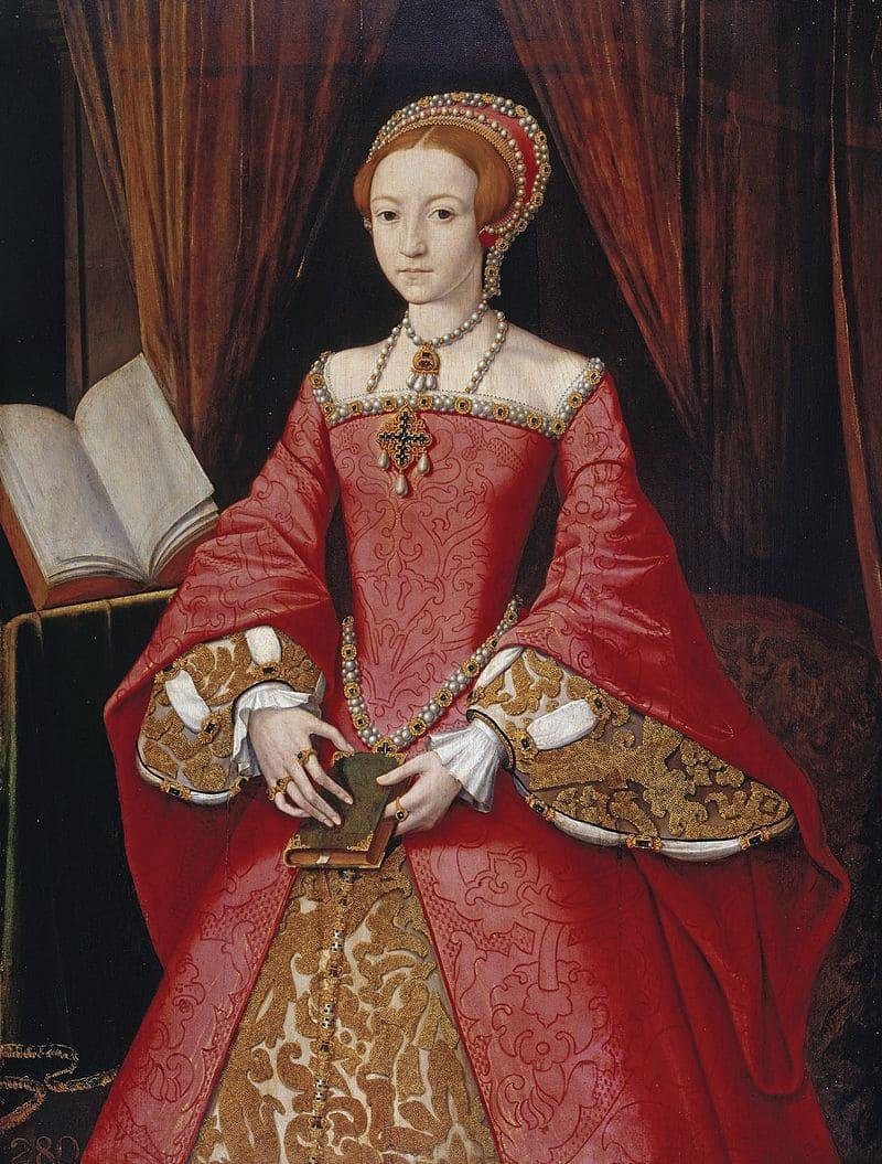 Неизвестный художник «Портрет юной Елизаветы» / Виндзорский замок, Англия