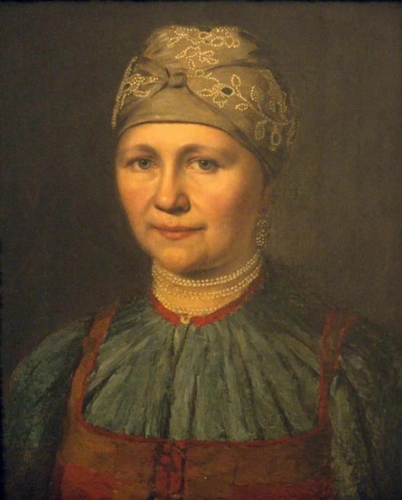 Неизвестный художник «Портрет женщины» (не является изображением Екатерины Антоновны)