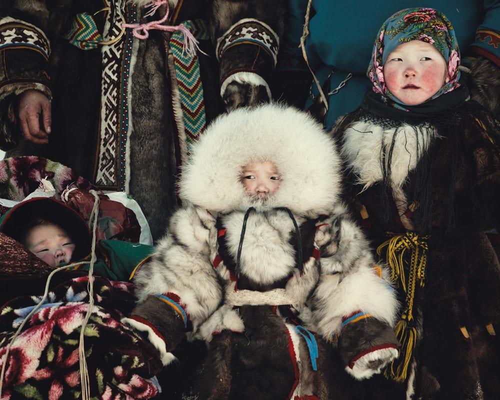 Ненецкие дети / © Джимми Нельсон (фотограф) / jimmynelson.com