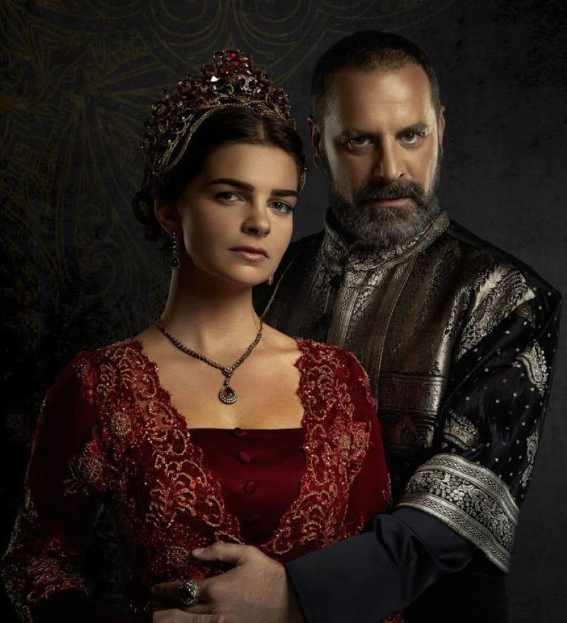 Образ Михримах-султан и Рустема-паши в сериале «Великолепный век»