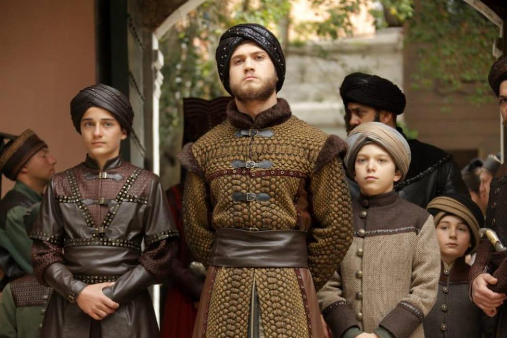 Образ шехзаде Баязида и его сыновей в сериале «Великолепный век»