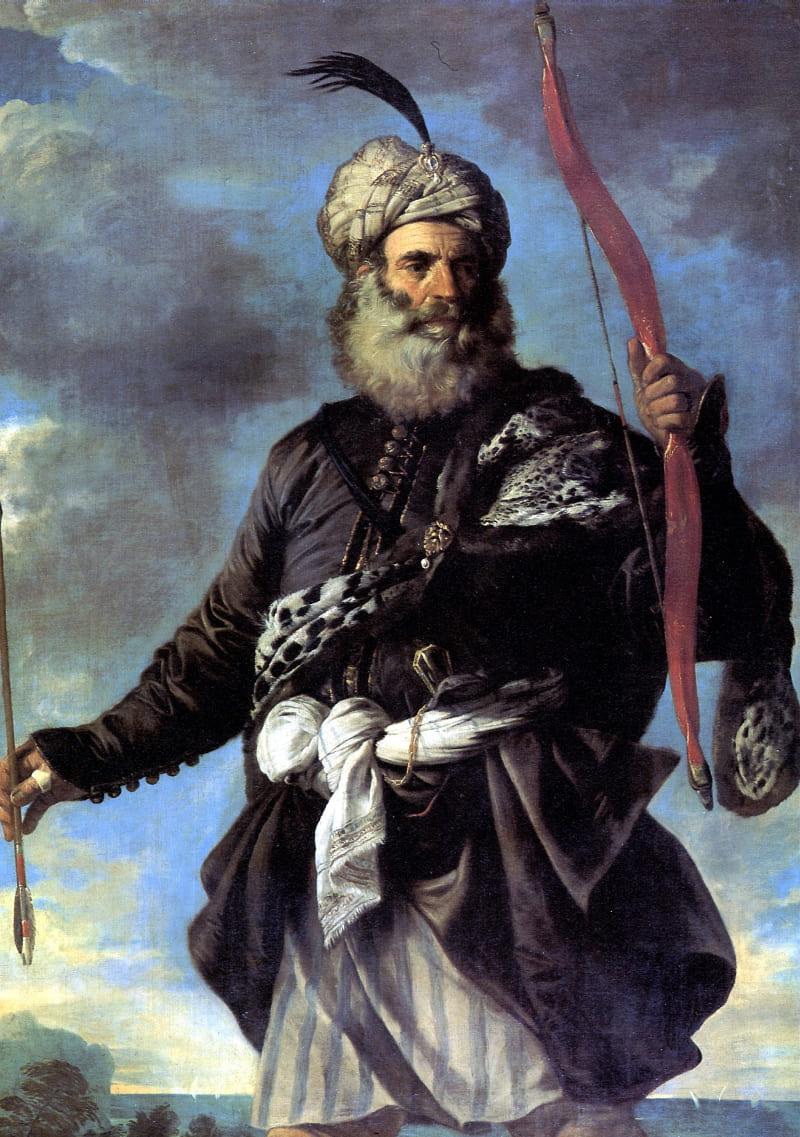 Пьер Франческо Мола «Берберский пират» / Лувр, Франция