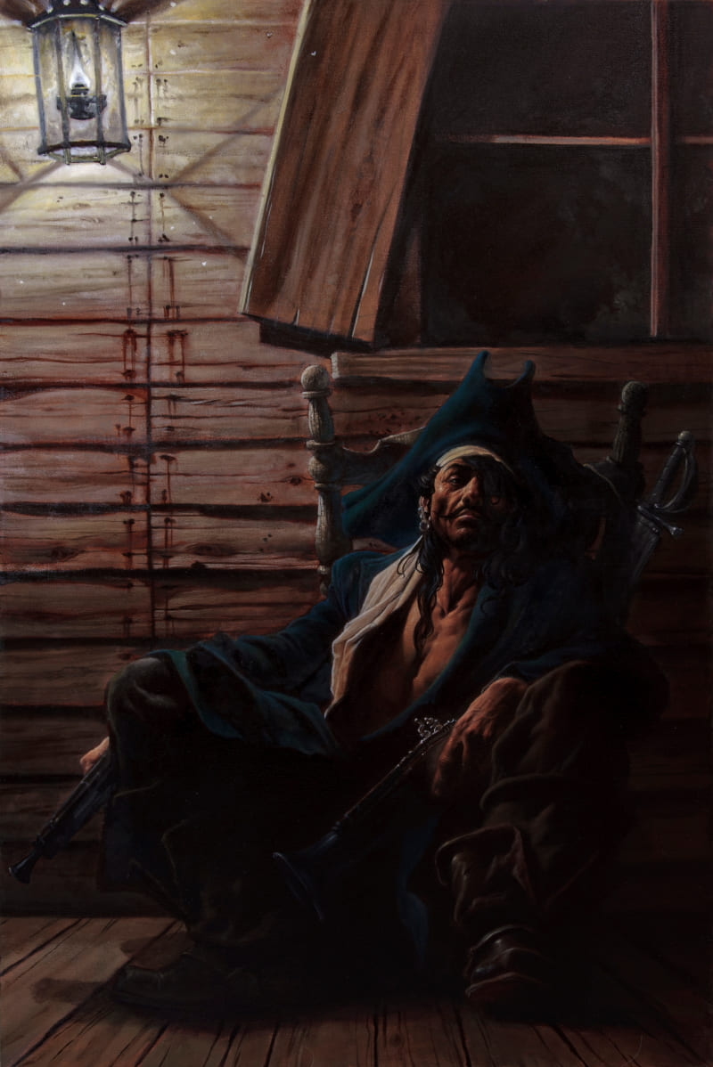 Пират / © Paul Mellender / paulmellender_1.artstation.com